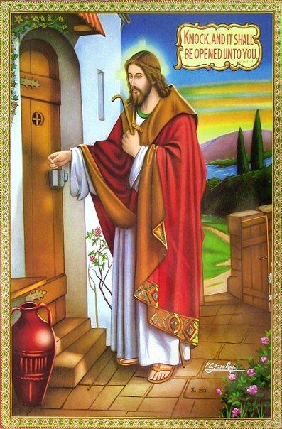 المسيح قارع الباب منتديات الكنيسة