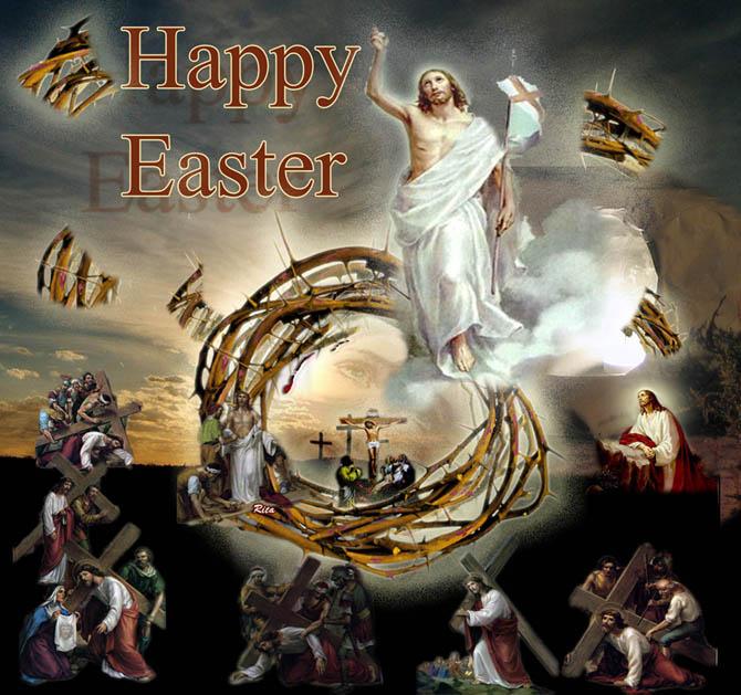 حصريا على منتدي الحق والضلال القداس الالهي لعيد القيامة المجيد لابينا القس بقطر نسيم