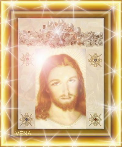 صورة للمسيح بتصميم جديد  من تصميمى