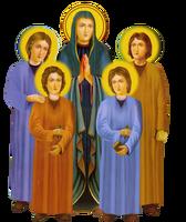 مديح للقديسه الأم دولاجي وأولادها