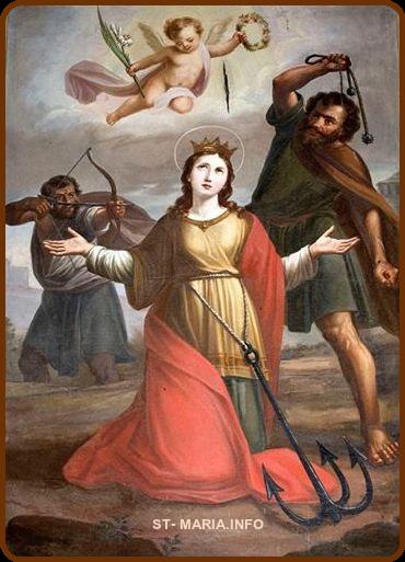 الشهيدة فيلومينا العجائبية