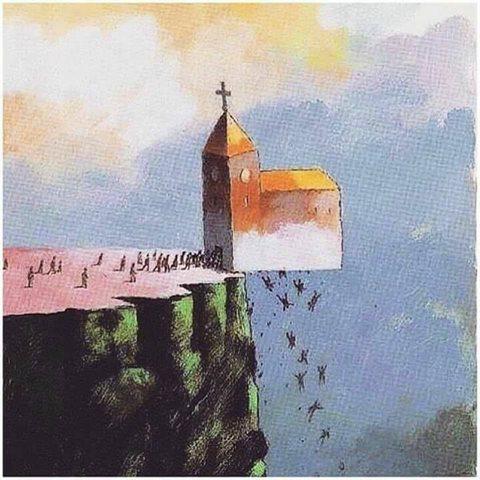 الصورة المشوهة للكنيسة