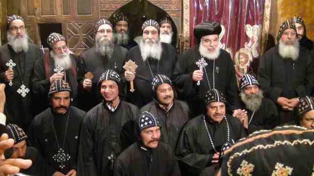طقس سيامة الرهبان التسعة