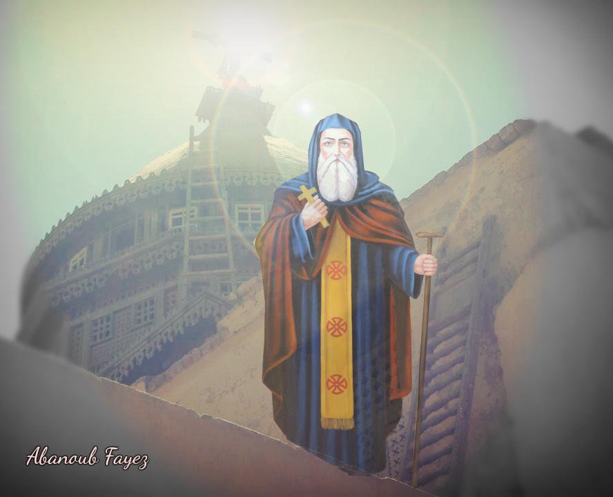 القديس العظيم الانبا بلامون السائح وديره بالقصر