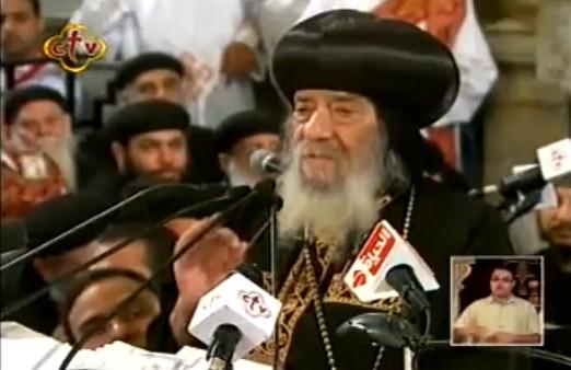 بالفيديو :: شاهد الاسد المرقسى و هو يدافع بكل قوة عن العقيدة المسيحية الارثوذكسية فى